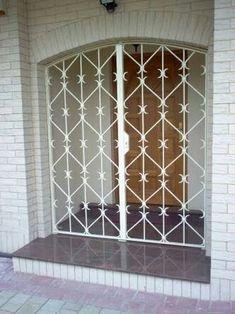 Door Grill, Tv Cabinet Design, Window Grill Design, Mexico House, Door Gate Design, Wrought Iron Gates, Entry Gates, Iron Doors, Steel Doors