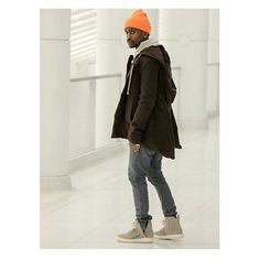 Big Sean wearing Kanye's Yeezy 750 Boost  _ _ _ _ _ _ _ _ _ _ _ _ _ _  Tag @communityofstreetwear or #communityofstreetwear on your outfits! #Padgram