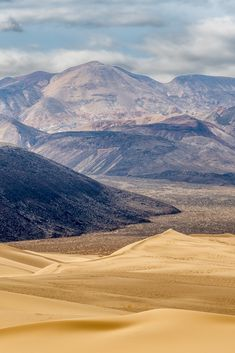 The Eureka Valley Sand Dunes are located in the southern part of Eureka Valley, in northern Inyo County in eastern California, in the southwestern United States. #landscape #photography #tips #explore #california #ilovephotography