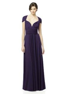 THIS IS MY BRIDESMAID DRESS FOR KORY'S WEDDING :) can be twisted into a bunch of different styles