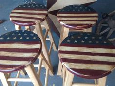 17 Best ideas about Painted Stools on Pinterest | Painted bar ...