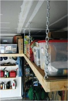 18 Best Overhead Storage Images Garage Storage Garage
