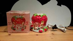 Your place to buy and sell all things handmade Vintage Strawberry Shortcake, Ceramic Houses, American Greetings, Vintage Home Decor, Christmas Bulbs, My Etsy Shop, Candles, Holiday Decor, Check