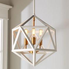 Check out Modern Diamond Prism Lantern from Shades of Light