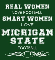 Smart Women Love Michigan State Football - Fabrily