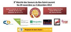 Saveurs du Bas-Saint-Laurent Bas Saint Laurent, Saveur, Table, Business, Tables, Desk, Bench, Desks