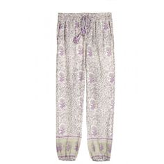 Printed Cotton Gauze Pant.