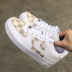 Checkered Louis Vuitton Nike Air Force 1 damier checkered AF1  nike  af1   louisvuitton 2d2ffa329