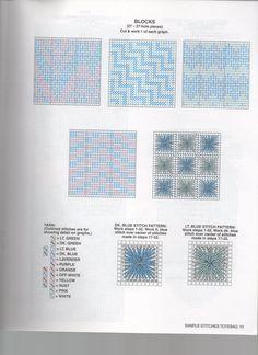 Borduren op Plastic Canvas: Voorbeelden, Ideeën, Patronen *Embroidery: Examples, Pattern ~DIY Boodschappentas 8/10~