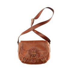 Brown, over the shoulder, bag.