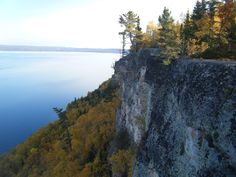 Lake Superior from Sleeping Giant Provincial Park