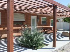 Pergola construction by Harmon Enterprises, Three Forks MT