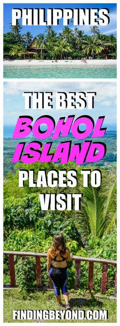 Bohol Island should be added to everyone's Philippine island hopping itinerary. Check out our best places in Bohol to visit and other Bohol attractions. Philippines Vacation, Philippines Travel Guide, Bohol Philippines, Philippines Beaches, Cool Places To Visit, Places To Travel, Vacation Places, Travel Guides, Travel Tips