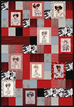 Cups And Saucers Paper Pieced Kitchen Quilt Design By