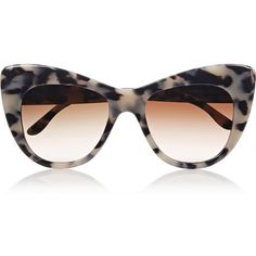 Stella McCartney Tortoiseshell cat eye acetate sunglasses, Women's,... (4 280 UAH) ❤ liked on Polyvore featuring accessories, eyewear, sunglasses, glasses, sunnies, stella mccartney, óculos, tortoise cat eye sunglasses, oversized cat eye sunglasses and tortoiseshell cat eye sunglasses