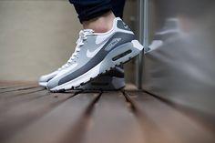 Nike Air Max 90 Ultra Breathe WMNS-White-Cool Grey-Wolf Grey-2