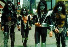 Hottest band in the world, KISS