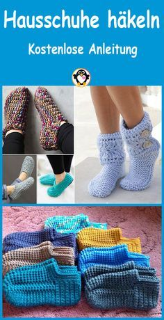 Crochet Boots, Crochet Slippers, Knit Crochet, Crochet Slipper Pattern, Crochet Patterns, Crochet Home, Diy Mask, Cool Diy Projects, Crochet Stitches