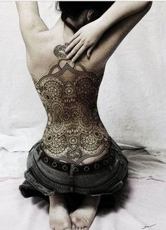 Interesting, I want to know the story behind her ink.