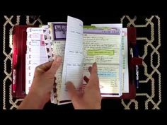 Filofax / Day-Timer /Franklin Covey Personal Organizer Set-up