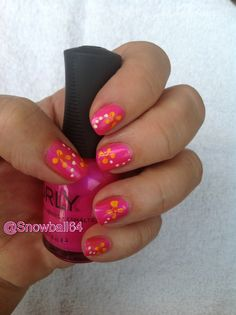 Migi Nail Art, Easy & Simple Flowers