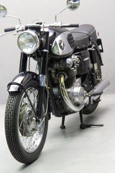 65 honda cb450, 'black bomber' | lossa engineering | motorcycles
