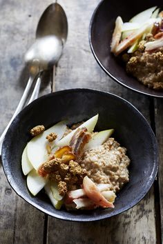 Chai Steel Cut Oats with Fruit — Kitchen Repertoire