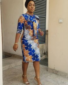 look simple and stylish in these women ankara styles for the week Ankara Styles For Women, Ankara Dress Styles, African Print Dresses, African Print Fashion, African Wear, African Attire, African Women, African Dress, Ankara Blouse