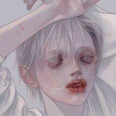 Anime Art Girl, Manga Art, Pretty Art, Cute Art, Aesthetic Art, Aesthetic Anime, Anime Villians, Grunge Art, Guy Drawing
