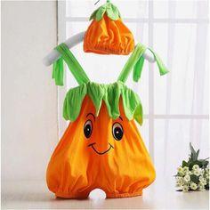 Halloween baby costume pumpkin strawberry bee clothing set bodysuit infant toddler kids boys girls clothes