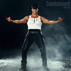Matthew McConaughey-  Yes I will go see Magic Mike!!!!