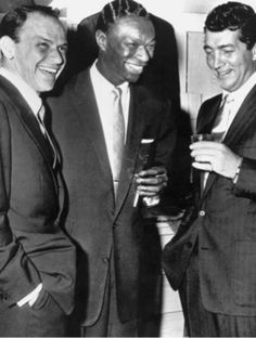 Frank & Dean with Nat King Cole