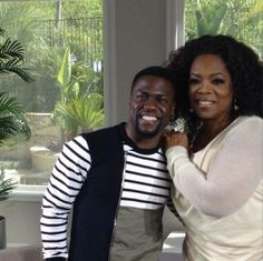 Finished GREAT convo with Kevin Hart yesterday. Like him even more! Coming soon to #OprahPrime