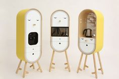 The LOLO Capsular Microkitchen is a design concept that takes the trend to its next logical conclusion: a set of kitchen appliances that can be moved and installed modularly according to your needs.
