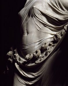 Sculptors like Bernini (1600's) captured such intense detail and texture in solid marble… this makes my brain hurt.