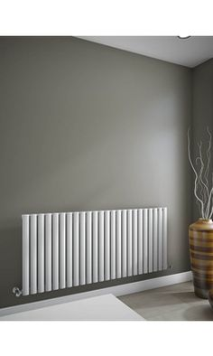 New range of beautiful Brenton horizontal radiators Bedroom Radiators, Modern Radiators, Contemporary Radiators, Horizontal Radiators, Living Room Modern, Living Rooms, Radiator Ideas, Modern Hallway