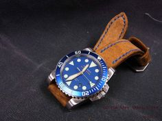 Helson Shark Diver blue.... Oh how I love this blue bezel