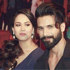 Omg her looks 😭💕✨ shamira Trendy Mens Fashion, Indian Men Fashion, Mens Fashion Wear, Bollywood Couples, Bollywood Celebrities, Bollywood Actors, Medium Beard Styles, Hair And Beard Styles, Hair Styles