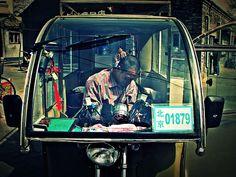 Three Wheel Taxi in Beijing
