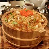 August Gatherings - New York, NY, United States. XO fried rice with scallop