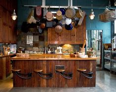 Rustic Country Kitchens | Rustic country kitchen. Needs a little light but other than that, perfect!