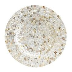 Pearl Mosaic Decorative Accents