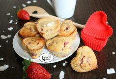 Erdbeer- Kokos Muffins
