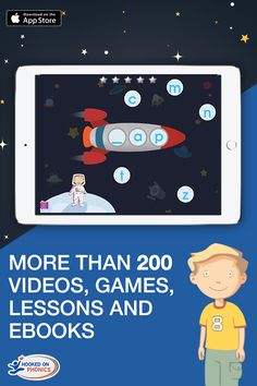 Start your child on the path to becoming a confident lifelong reader and learner with the Learn to Read app from Hooked On Phonics. Designed for children ages 3-7, this fun-to-use app features over 250 songs, award-winning videos, interactive games, reading lessons and ebooks. Try it FREE today.