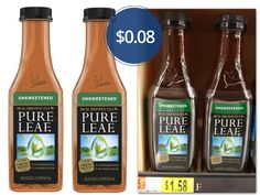 Lipton Pure Leaf Tea, Only $0.08 at Walmart!