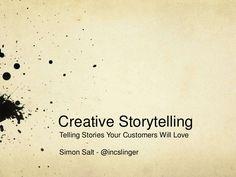 Creative #Storytelling - #digitalstorytelling