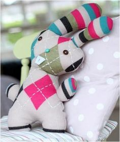 Transform an Old Sweater Into an Adorable Bunny Softie for Easter by DiyCraftsToday