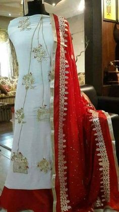 Beautiful combination Punjabi suit dupatta WhatsApp us for Purchase & Inquiry : Buy Best Designer Collection from by New Punjabi Suit, Designer Punjabi Suits Patiala, Punjabi Suits Designer Boutique, Boutique Suits, Punjabi Dress, Indian Designer Outfits, New Style Suits, Salwar Suits Party Wear, Desi Wedding Dresses