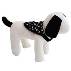 Bandana para Cachorro Dupla Face Caveira Dog & Home - MeuAmigoPet.com.br…