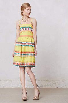 Leifsdottir Ribboned Quilotoa Strapless Dress